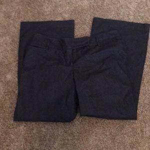 LOFT pinstripe trouser jeans size 14